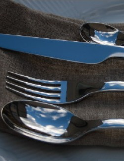 Alessi Ovale 56 piece cutlery set for 12 people