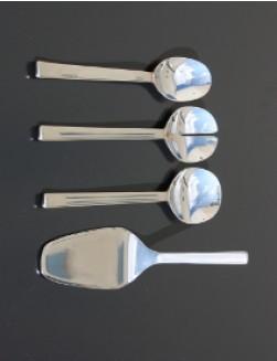 Alessi Ovale Serving Set 4 pieces